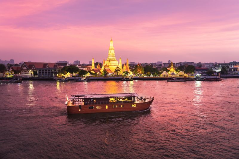 Loy River Song - Cruise Thailand's Lost Kingdom of Ayutthaya